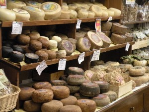 Cheese Shop in Pienza