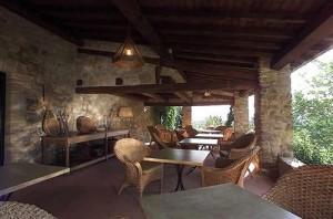 The Terrace at Villa Marciano