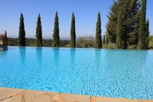 pool at villa marciano