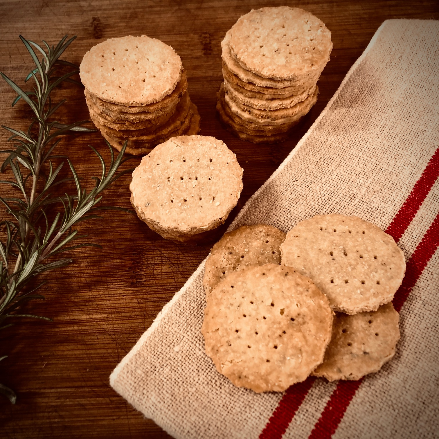 Chickpea & Almond Crackers