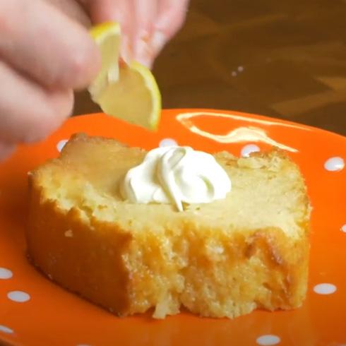 Aperol Olive Oil Pound Cake